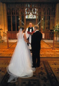 Wedding at St. David's