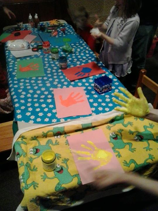 Things are getting messy and handy at Messy Church