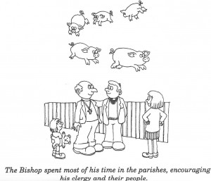 Bishops and flying pigs