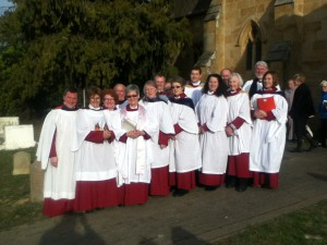 St David's Choir Buckland